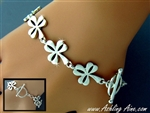 Irish Shamrock Toggle Bracelet (#JPEW6064)