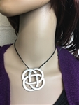 Forever Eternity knot Pin/Pendant  Celtic Knot (JPEW6078)