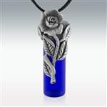 Lovely Rose Memorial/Essential Oil Bottle (Pew11)