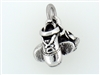 Pewter Irish Step Dance Hard Shoes Charm USA (RPEW10)