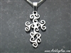 Triskele Journey Cross necklace