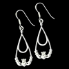 316 L Stainless Steel Claddaugh Earrings (#S21)