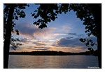 Fine Art Giclee Print - 'Lake Sunset'