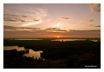 Fine Art Giclee Print - 'Lake Living Sunset'