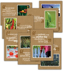 Gardening Note Card Set