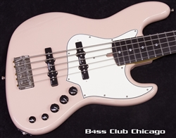 Alleva Coppolo LG5 Standard Shell Pink with Matching Headstock
