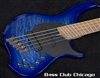 Dingwall Combustion 5 string 2 Pickup Indigoburst FREE SHIP!