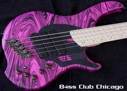 Dingwall NG3 5 String Pink Swirl - Limited Finish!