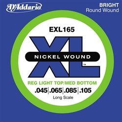 D'Addario EXL165 Nickel 45-105