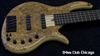 Elrick Gold E-vo 5 w/superb Spalted Maple Burl top!