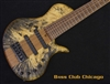 Elrick Evolution 6 Platinum Piccolo Bass Buckeye Burl - Mint!