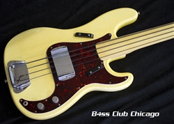Fender 1973 Precision Blonde Fretless - Preowned