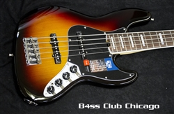 Fender American Elite Jazz V in 3 Tone Sunburst