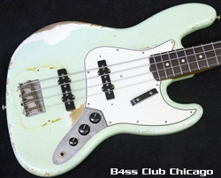 Fender Custom Shop Master Built 64 Jazz Surf Green Relic
