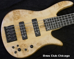 Fodera Monarch 5 Standard Special Maple Burl 7909