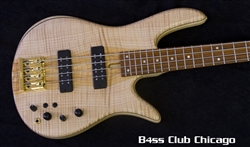 Fodera Monarch Standard 4 Flamed Maple