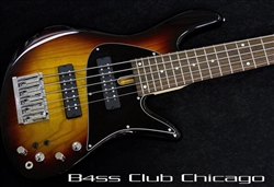 Fodera Emperor 5 Standard Classic Special Sunburst Preowned - SALE PENDING!!