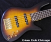 Fodera Emperor 5 Bolt On Flamed Oak Tobacco Burst - SOLD!