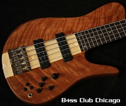 Fodera Imperial Elite Select 5 Flame Redwood 6454