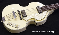 Hofner 500/1 Beatle Bass Limited Edition Ivory White Preowned - SOLD!