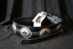 Jodi Head Antique Conchos Snake Black Bass Strap