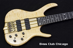 Ken Smith White Tiger 5 String Maple Walnut Neck Through