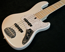 Lakland Skyline Darryl Jones DJ5 White Pearl