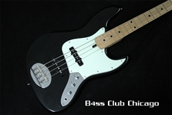 Lakland Skyline 44-60 Black Jazz Bass With Added Mike Pope 18 Volt Pre-Amp