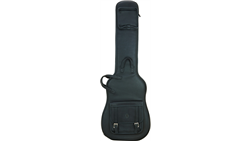 Levy's LM19 Deluxe Italian Leather Bass Bag Black
