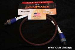 Lava Tephra Speakon Cable 3ft WITH TECHFLEX!