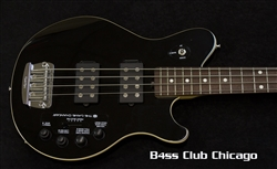 Musicman Reflex Game Changer 4 string Black