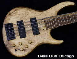 MTD US 535-24 Myrtle Burl SN 2930 - NEW FROM NAMM 2017!