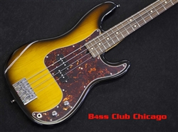 Mike Lull P4 Precision Bass in 2 Tone Sunburst