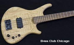 Roscoe SKB Standard 4 Spalted Quilt Maple top