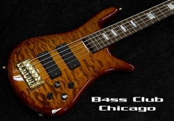 Spector Euro 5LX Quilted Maple Amber