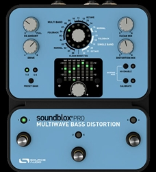 Source Audio Soundblox Multiwave Bass Distortion Pro