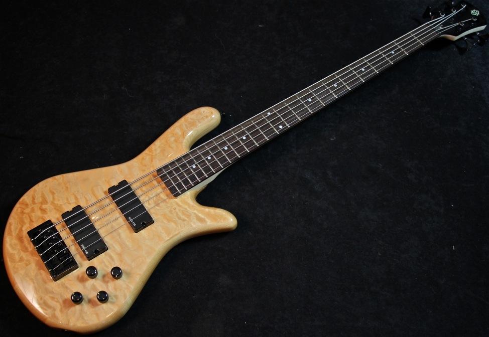 Spector Legend 5 String Bass Guitar Quilt Top  B Stock