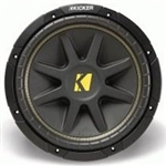 "Kicker C104 (10C104) 10"" Single 4 ohm Comp Series Car Subwoofer"