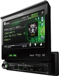"Pioneer AVH-P6300BT Flip Out 7"" Touchscreen DVD Bluetooth Receiver Detachable Panel"