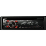 Pioneer DEH-1300MP In-Dash CD, MP3, WMA Car Stereo Receiver with Front Aux Input and Remote Control