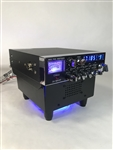FAN KIT BASE STAND w/ Built In Ext Speaker BLUE LED GALAXY CONNEX RANGER CB HAM Radios