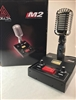 Delta Electronics M2 Black Chrome Amplified Powered Base CB HAM Microphone