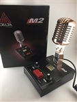 Delta Electronics M2 Gold Amplified Powered Base CB HAM Microphone