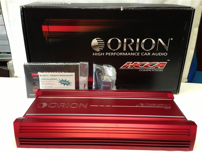 Orion Hcca5001 Hcca Mono Channel Car Amplifier Orion Audio