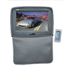 Adjustable Gray Headrests w/ Built-In 11'' TFT/LCD Monitor W/IR Transmitter & Cover