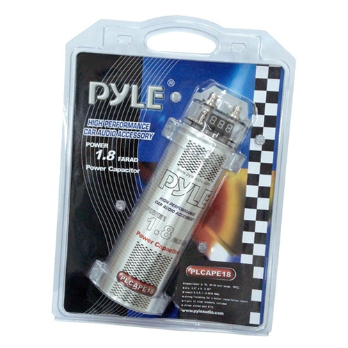Pyle PLCAPE18 1.8 Farad Digital Power Capacitor