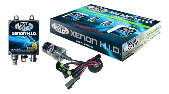 Pyle PLHID9006K 8000K Single Beam 9006 HID Xenon Driving Light System