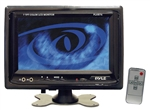 Pyle PLHR76 7'' Widescreen TFT/LCD Video Monitor w/Headrest Shroud