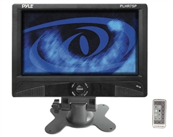 Pyle PLHR7SP 7'' Widescreen LCD Mobile Video Monitor W/Built-In Speakers