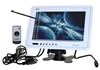 "9"" Headrest TFT LCD Monitor w/ VGA & Touch Screen (White Color) PLHR9TSW"